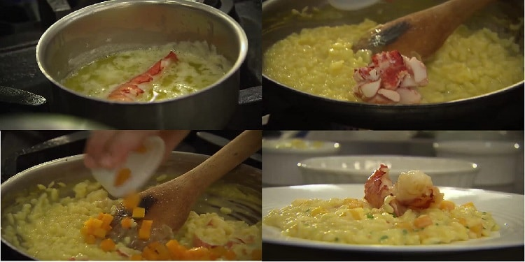 Lobster Butternut Squash Risotto