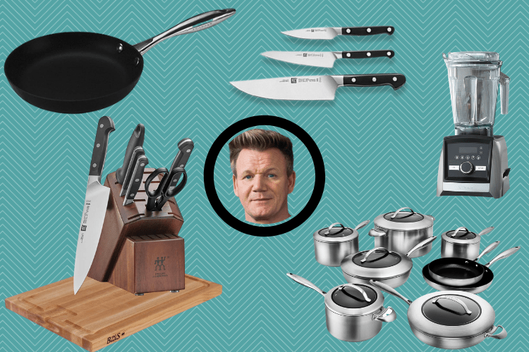 Gordon Ramsay's Kitchen Essentials List